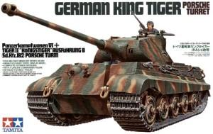 Tamiya 1/35 King Tiger w/ Porsche Turret