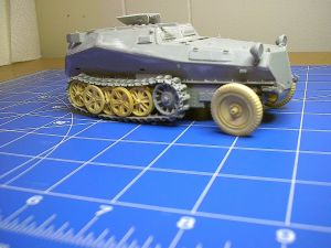 Cyber Hobbies 1/35th Scale Sd.Kfz.253 le Beob.Pz.Wg. (Kit No. 9128)