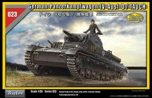 Tristar 1/35th German Panzerkampfwagen IV Ausf D/Tauch Tank (Kit#35023)